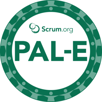 PAL-E badge