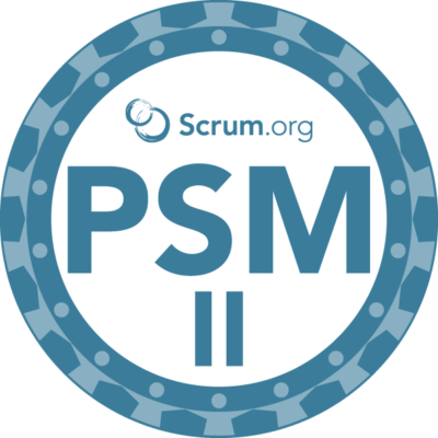 PSM II badge